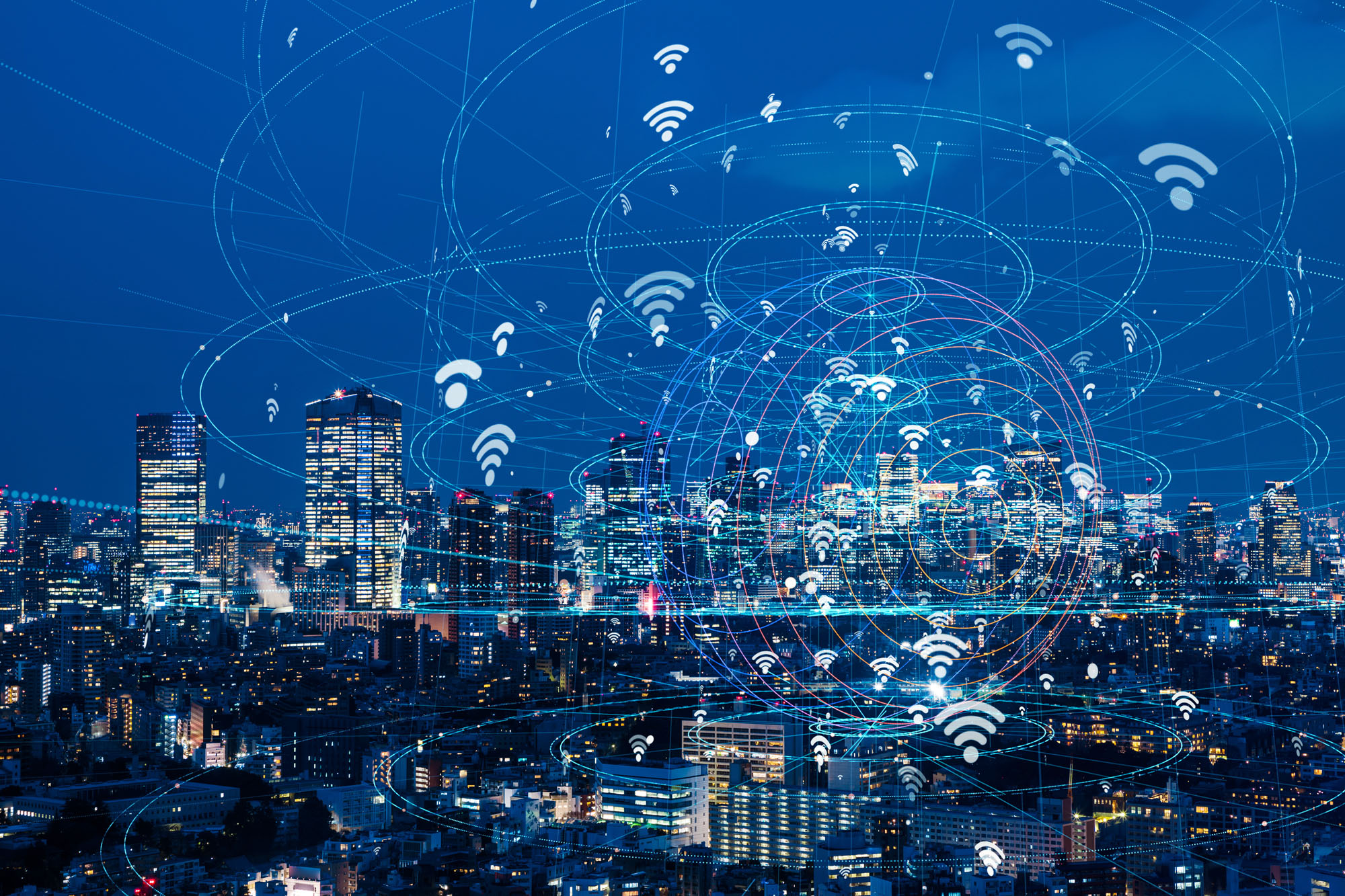 The fundamental policy of Connected Industries aims to create added value through connecting various data. | GETTY IMAGES