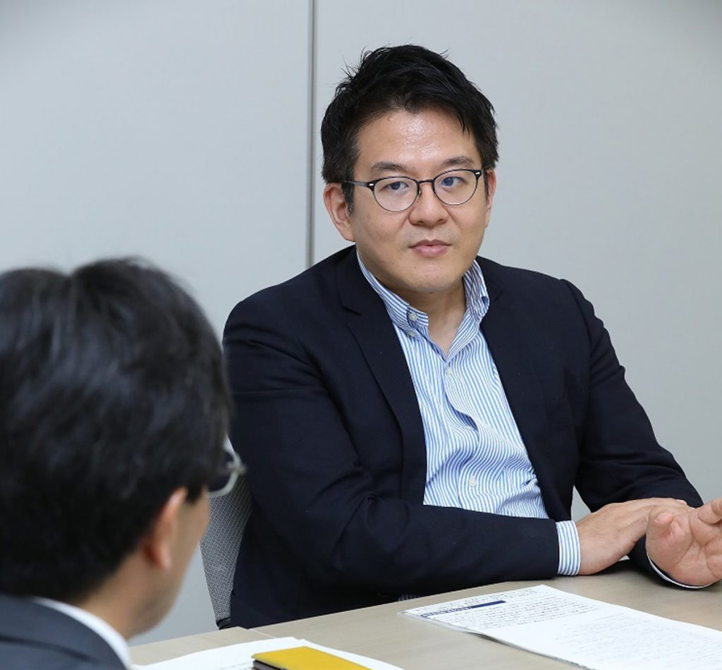 Director of the Service Affairs Policy Division and the Education Industry Office of METI's Commerce and Service Industry Policy Group Daisuke Asano