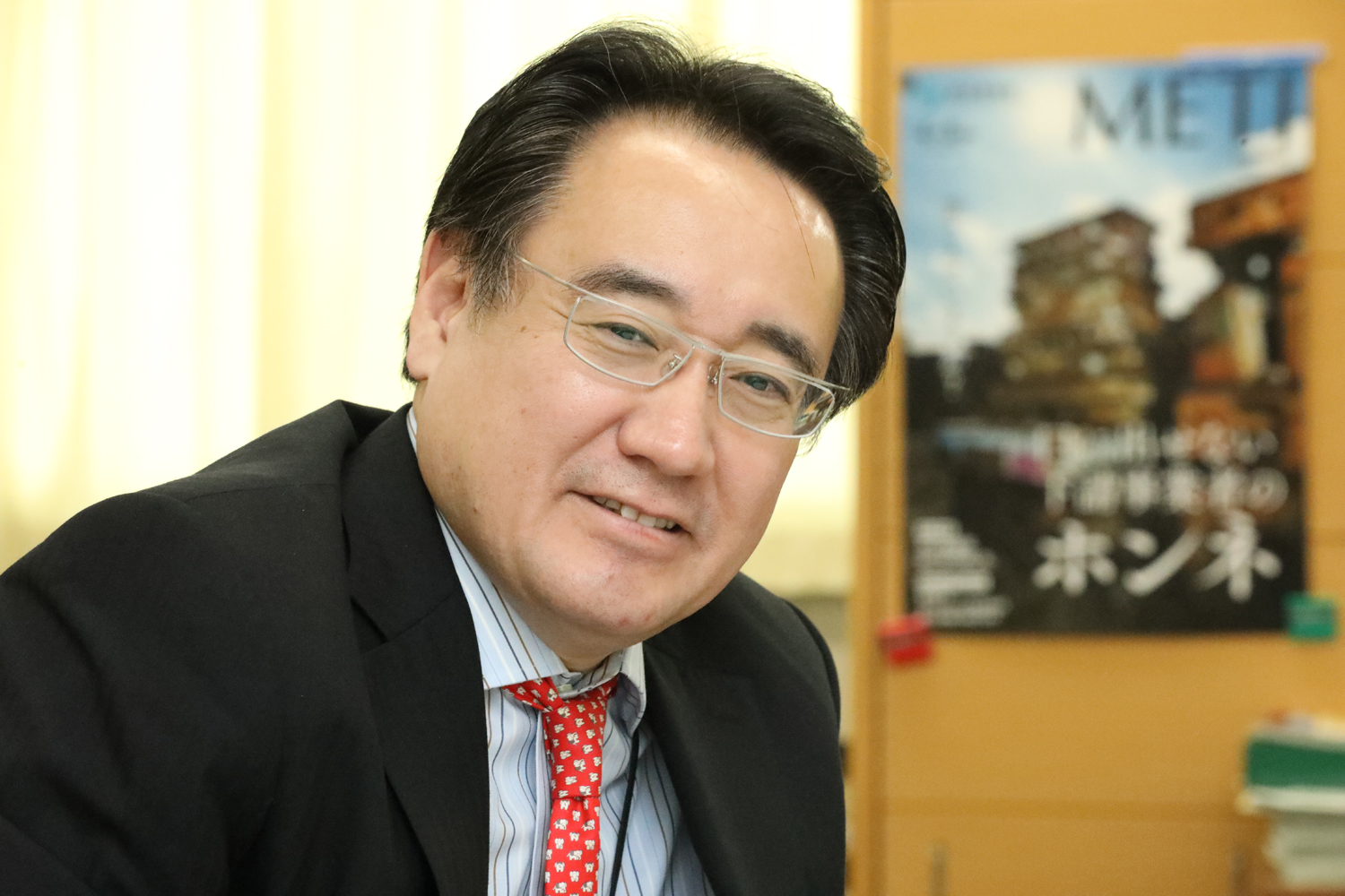 Deputy Commissioner of The Small and Medium Enterprise Agency Yasuhiro Maeda talks about his expectations on digital transformation efforts at the Ministry of Economy, Trade and Industry.