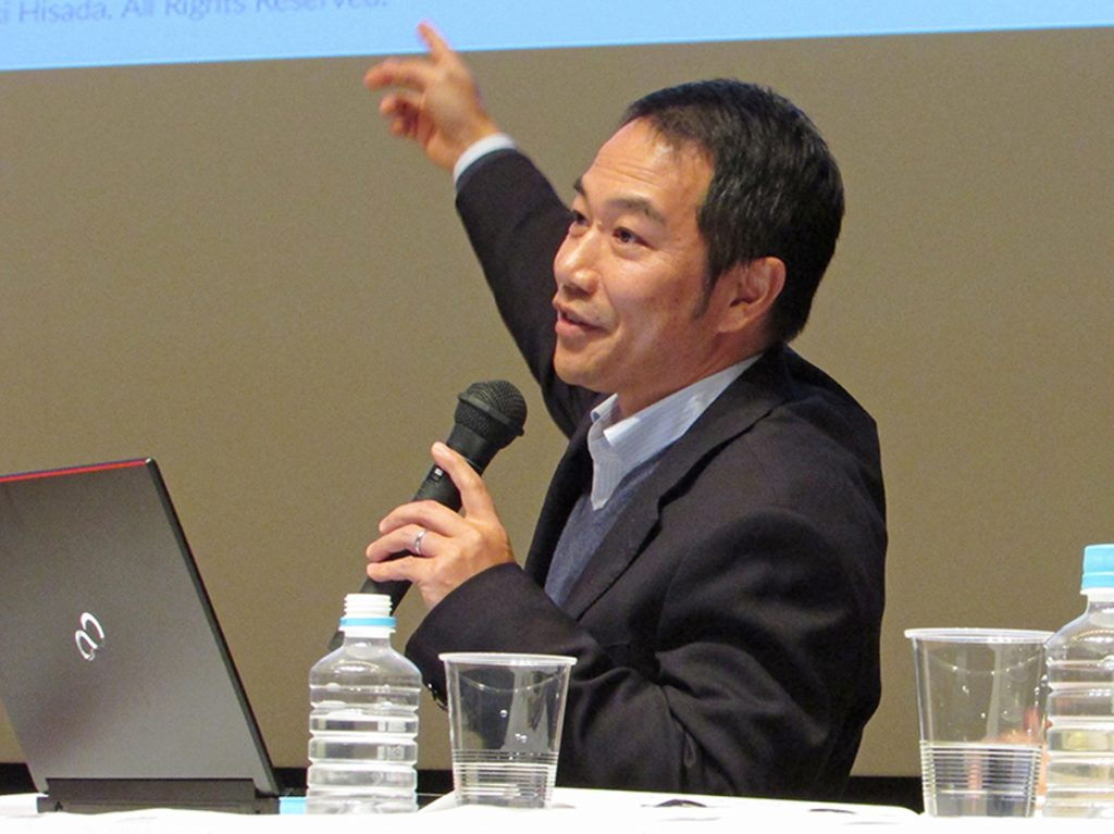 Aizu Laboratory Inc.'s Masayuki Hisada talks about the innovation movement starting from Aizu.