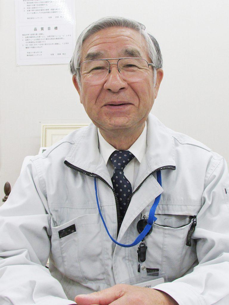 Syntec President Kazumi Akatsu