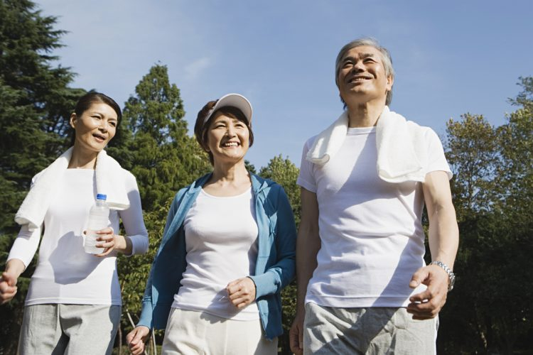 Many individuals hope to lead healthy and vibrant lives. As a country with an advanced aging society, Japan is tasked with finding measures to help people achieve this. | GETTY IMAGES