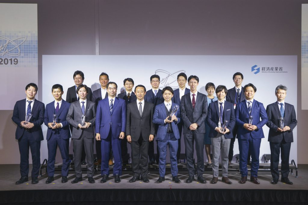 The Ministry of Economy, Trade and Industry's Japan Healthcare Business Contest awards ceremony in January.