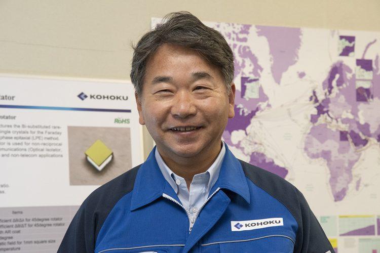 Kohoku Kogyo Co. President Futoshi Ishii