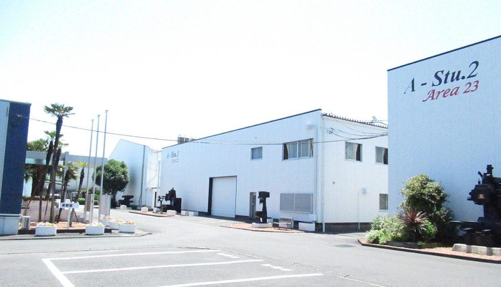 Roku-Roku's plant in Yaizu, Shizuoka Prefecture