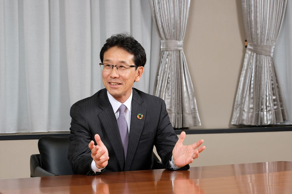 Hiroyuki Ogawa, representative director, president and CEO of Komatsu, discusses the company's strategy.